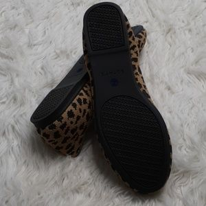 Rothy's Shoes - Worn once Rothy's Leopard Print Flats 7,5
